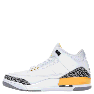Nike Jordan 3 Retro Laser Orange Sneakers Size EU 41 (US 9.5W)