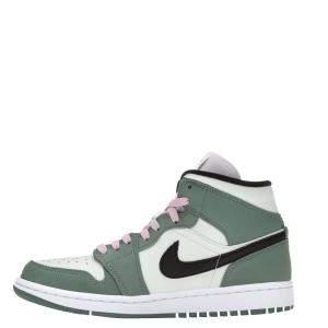 Nike WMNS Jordan 1 Mid Dutch Green Sneakers Size US 10W (EU 42)