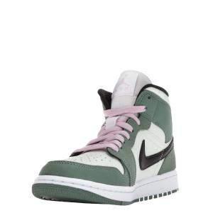 Nike WMNS Jordan 1 Mid Dutch Green Sneakers Size US 7W (EU 38)