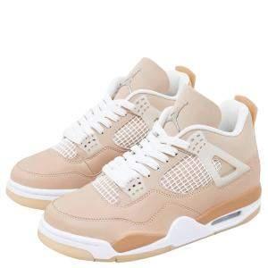 WMNS Jordan 4 Shimmer Sneakers Size US 8W (EU 39)