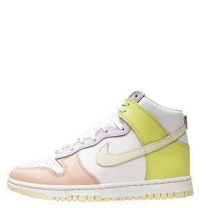 Nike WMNS Dunk High Lemon Twist Sneakers Size US 10.5W (EU 42.5)