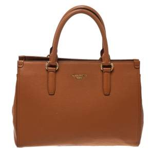 Nina Ricci Collection Tan Leather Tote