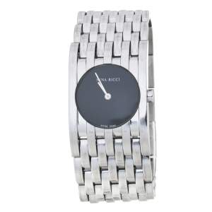 Nina Ricci Black Stainless Steel Classic N00113 Women's Wristwatch 25 mm