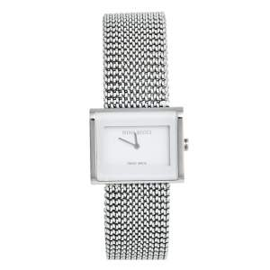Nina Ricci White Stainless Steel N025.12.20.61 Women's Wristwatch 28 mm