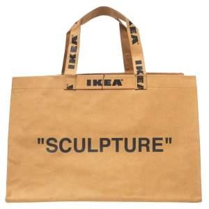 Off-White x Ikea Brown Markerad Sculpture Bag L