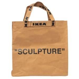 Off-White x Ikea Brown Markerad Sculpture Bag M