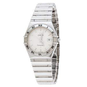 Omega Silver Stainless Steel Constellation 1582.30 Women's Wristwatch 27 MM