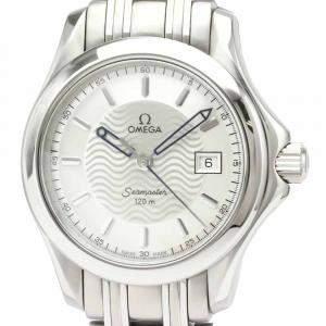 Omega Silver Stainless Steel Seamaster 2581.31 Women's Wristwatch 26MM