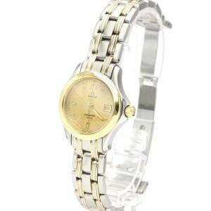 Omega  Stainless Steel Seamaster Quartz Women's Wristwatch 26 MM