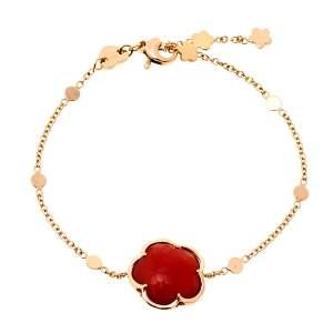 Pasquale Bruni Bon Ton Carnelian 18K Rose Gold Bracelet