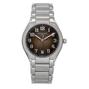 Patek Philippe Black Diamonds Stainless Steel Twenty-4 7300/1200A-010 Women's Wristwatch 36 MM