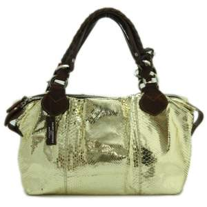 Pauric Sweeney Tote Multi-Colour Patent Python