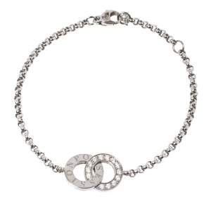 Piaget Possession Toi & Moi Diamond 18K White Gold Bracelet