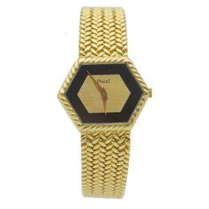 Piaget Yellow Gold Vintage Women's Wristwatch 30 MM