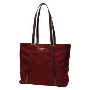 حقيبة يد برادا نايلون بوردو