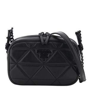 Prada Black Leather Spectrum Camera Bag