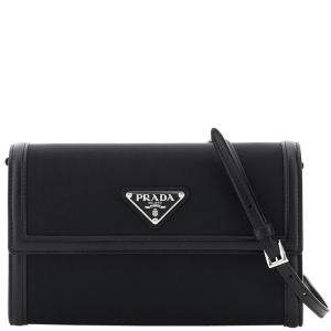 Prada Black Nylon Clutch Bag