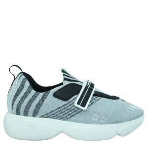 Prada Grey Mesh Cloudbust   Sneakers