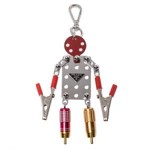 Prada Multi Tone Trick Robot Bag Charm
