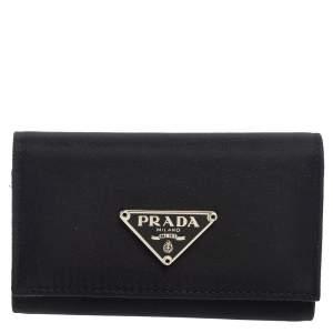 Prada Black Nylon Key Case