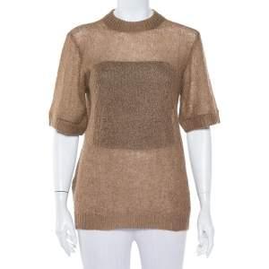 Prada Camel Brown Mohair Sweater M