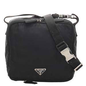 حقيبة حزام تيستو نايلون سوداء
