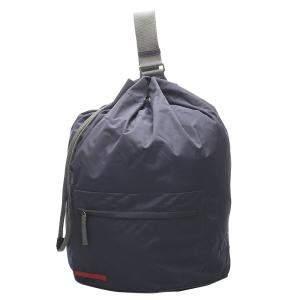 Prada Blue Nylon Tessuto Backpack