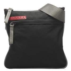 Prada Black Nylon Sport Crossbody Bag
