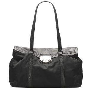 Prada Black Nylon Tessuto Easy Bag