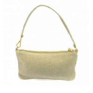 Prada Beige/Brown Canvas Canapa Satchel Bag
