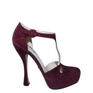 Prada Purple Suede  Sandals Size 39