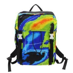 Prada Multicolor Tessuto Nylon Radar Backpack