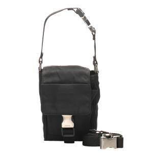 Prada Black Tessuto Nylon Belt Bag
