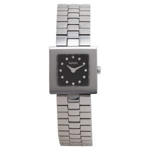 ساعة يد نسائية رادو ديا ستار 322.0682.3.070 ستانلس ستيل سوداء 20 مم