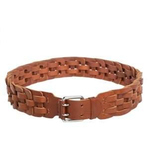 Ralph Lauren Brown Leather Waist Belt XL