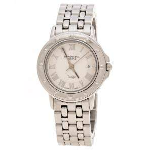 Raymond Weil Silver Stainless Steel Tango 5630 Women's Wristwatch 39 mm
