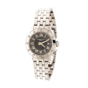 Raymond Weil Grey Stainless Steel Tango 5399 Women's Wristwatch 28 mm