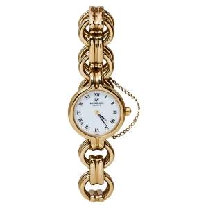 Raymond Weil White Gold Plated 9828 Women's Wristwatch 22MM