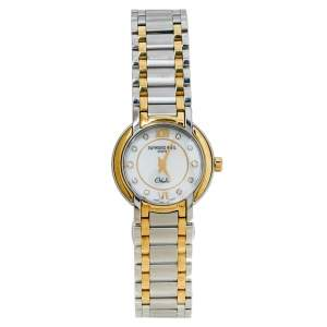 Raymond Weil White Stainless Steel Diamonds Othello 2320-STG-00985 Women's Wristwatch 25MM