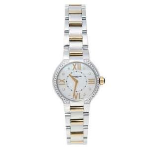 Raymond Weil MOP Two-Tone Stainless Steel Diamonds Noemia 5927-SPS-00995 Women's Wristwatch 27 mm