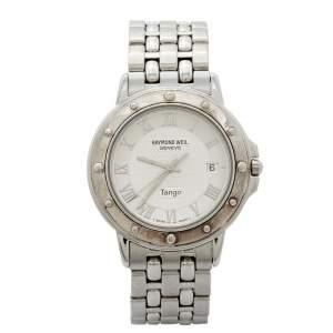Raymond Weil Silver Stainless Steel Tango 5560 Men's Wristwatch 36 mm