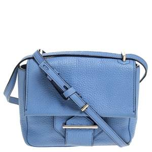 Reed Krakoff Sky Blue Leather Crossbody Bag