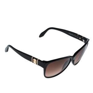Roberto Cavalli Black/Brown Gradient 650S Caprifoglio Sunglasses