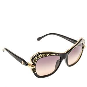 Roberto Cavalli Black Gradient Taygeta RC981S Cat Eye Sunglasses
