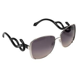 نظارة شمسية روبرتو كافالي مينكار مربعة أسيتات أسود