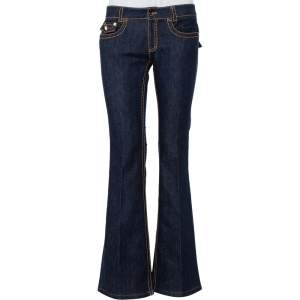 Roberto Cavalli Navy Blue Denim Bootcut Jeans S