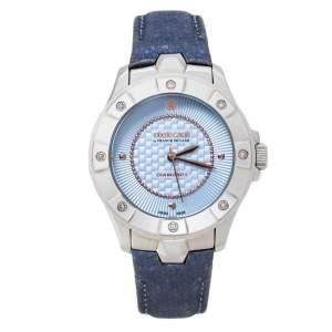 Roberto Cavalli By Franck Muller Blue Stainless Steel 2L008.6 Women's Wristwatch 36 mm