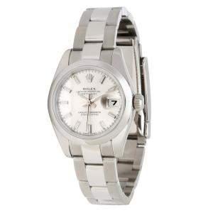 Rolex Silver Stainless Steel Datejust 179160 Women's Wristwatch 26MM