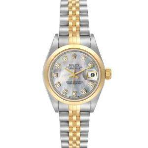 Rolex MOP 18K Yellow Gold And Stainless Steel Datejust 79163 Women's Wristwatch 26 MM