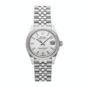 Rolex Silver Stainless Steel Datejust 278274 Women's Wristwatch 31 MM